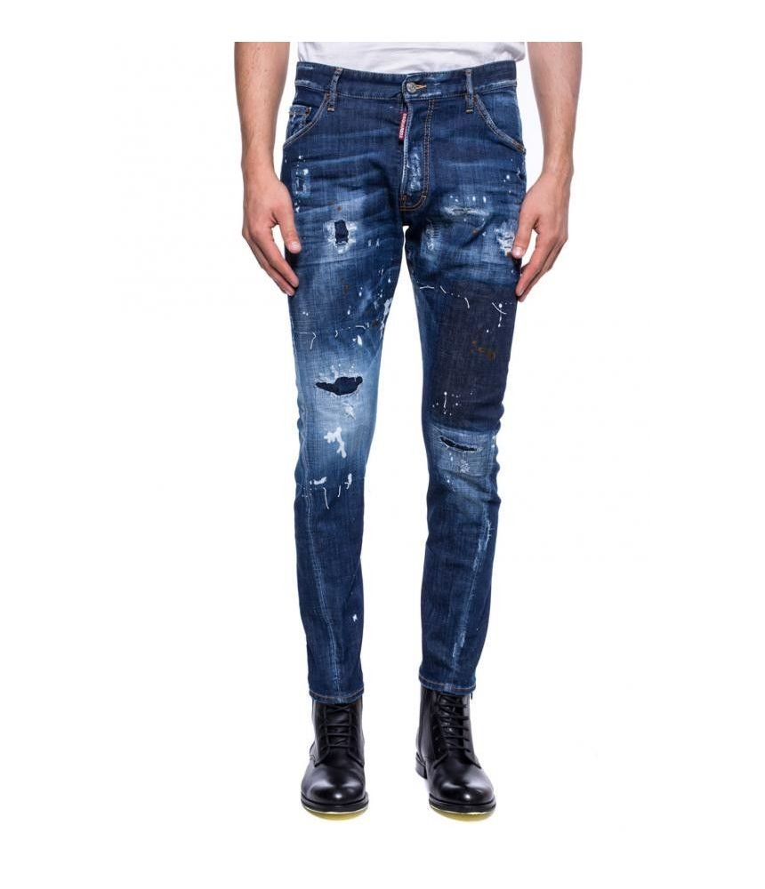 Dsquared2 Jeans, Classic Kenny Twist, Patched, Destroyed, S71LB0513 S30342-470