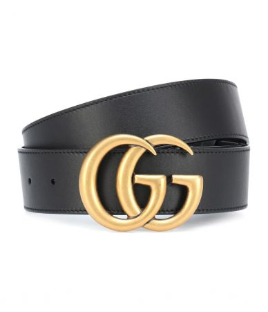 Curea Gucci, GG leather belt, P00273362