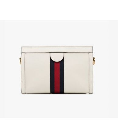 Gucci, White Ophidia Small Shoulder Bag, 14021058