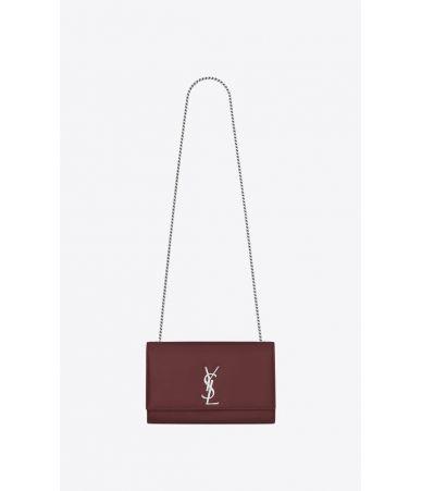 Geanta umar, YSL, Medium Kate Bag Dark Red