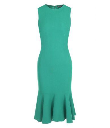 Rochie Dolce & Gabbana, Green Dress, F6A8QT V0403