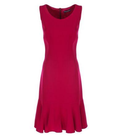 Rochie Dolce & Gabbana, Dark Pink Dress, F6A6IT F4079