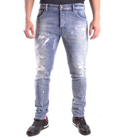 Blugi barbati, PHILIPP PLEIN, Slim Fit Jeans, S17C MDT0079