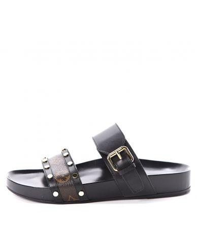Papuci dama, LOUIS VUITTON, Bom Dia Flat Mule Sandals, MA1108