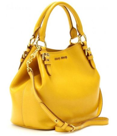 Geanta Miu Miu, Yellow Bag