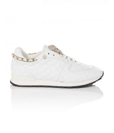 Philipp Plein, Women's Sneakers, Skull & Chain