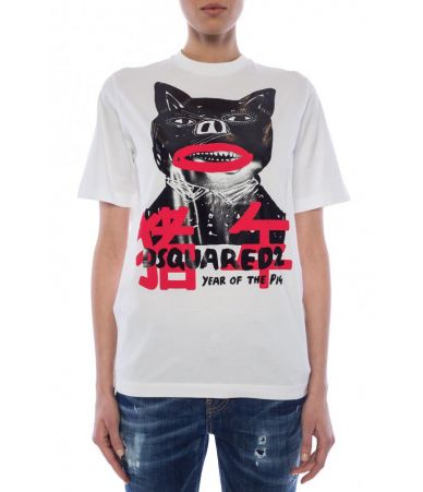 Dsquared2, Year Of The Pig T-shirt, S75GD0003 100