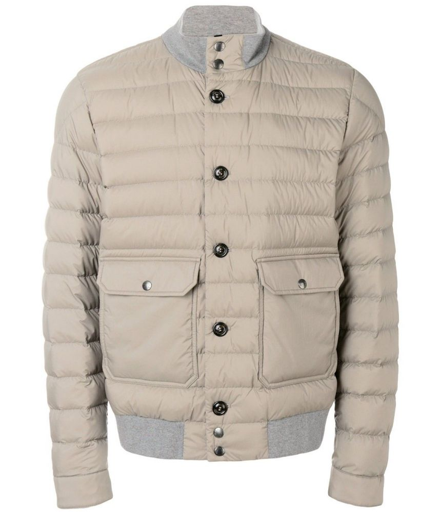 Moncler Chaberton, Quilted Bomber Jacket