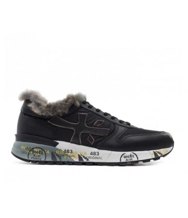 Premiata Sneakers, Mick VAR 3483, With Fur