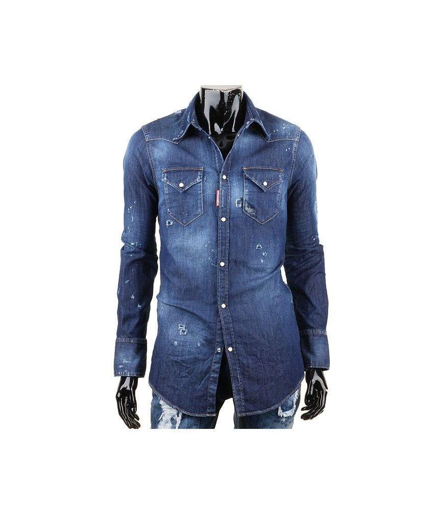 Dsquared2 Denim Shirt, Pre-Washed, Slim Fit