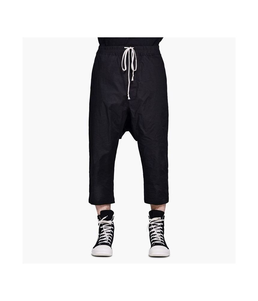 Rick Owens, DRKSHDW, Woven Cropped Pants