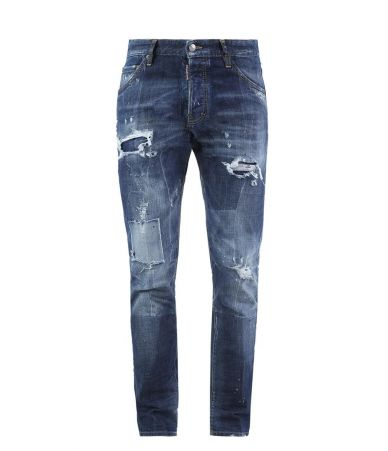 Dsquared2 Cool Guy Jeans, Patched, Destroyed, S74LB0115 S30144-470