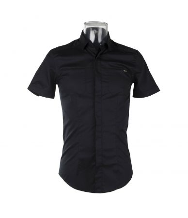 Frankie Morello, Polo T-Shirt, Black