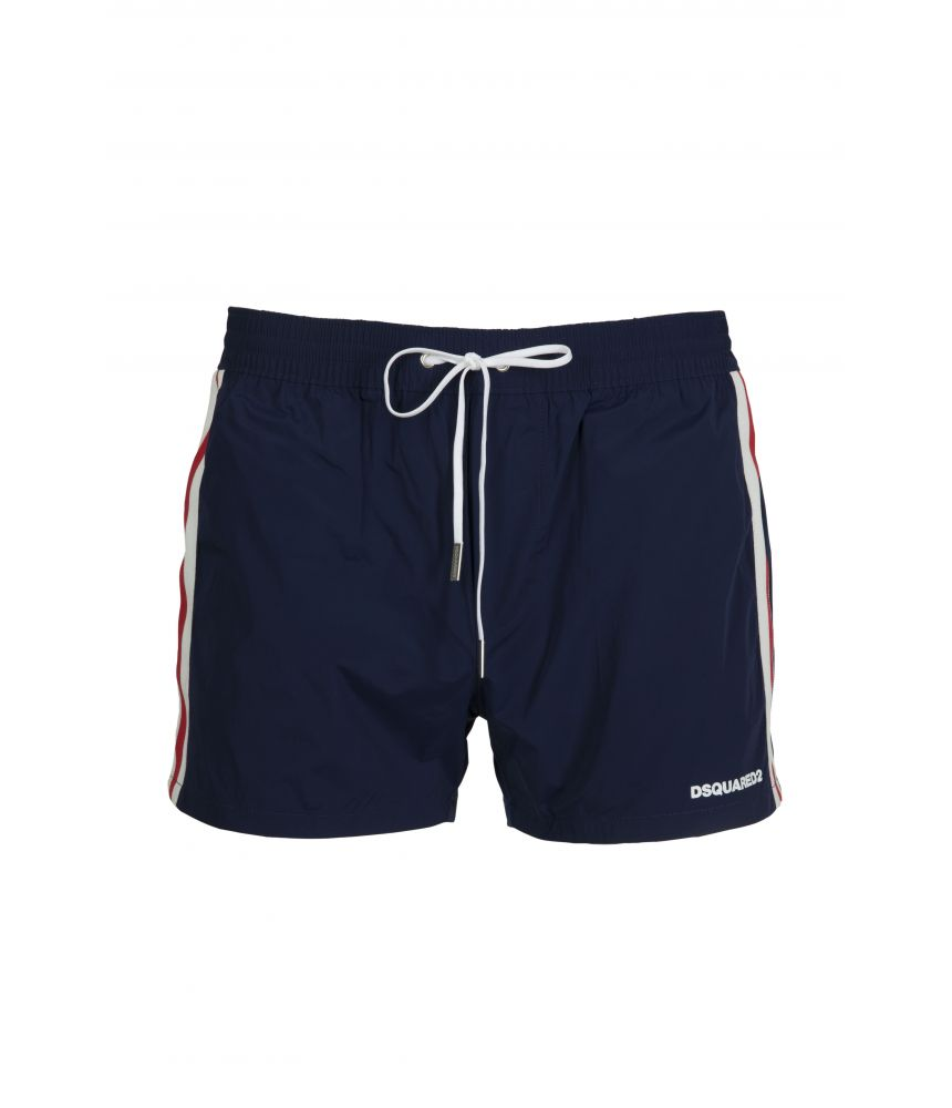 Dsquared2 Logo Band, Swim Shorts, Blue, D7B612250-300