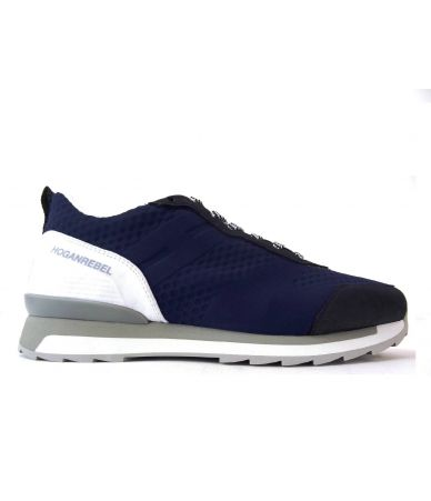 Hogan Rebel r261, Mesh Sneakers, Blue White