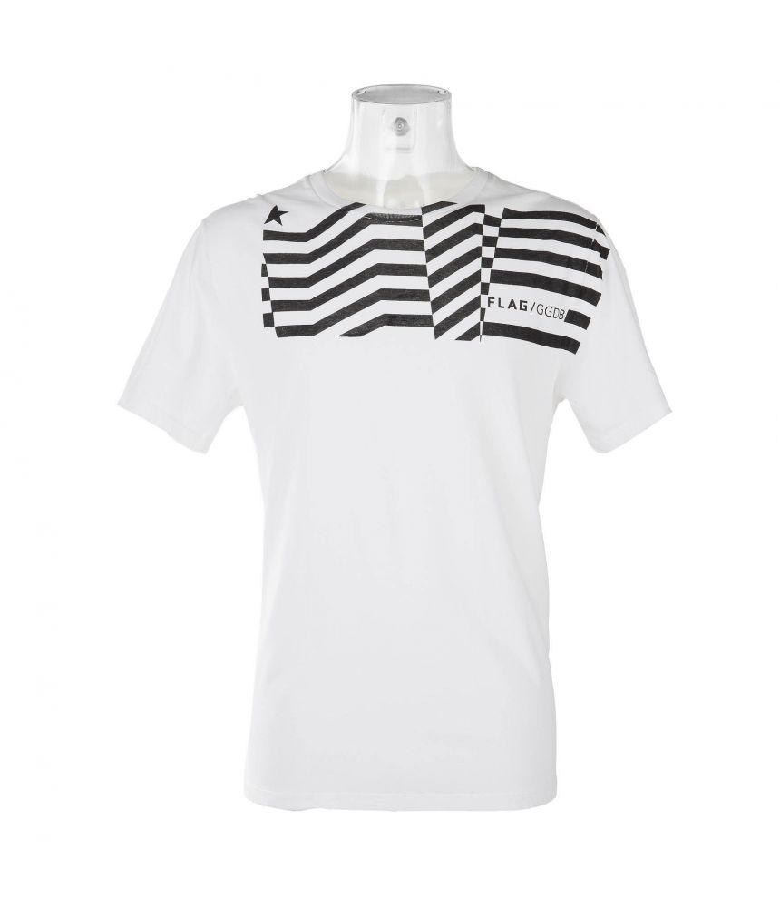 Golden Goose Deluxe Brand, GGDB Flag T-shirt