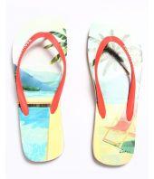 Papuci de plaja Dsquared2, logo frontal, S15FF40117221242
