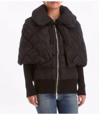Moncler Avery, Detachable Cape, Goose Down