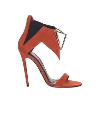 Gianmarco Lorenzi, High Heel Sandals, Suede