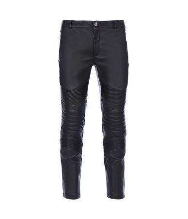 Pantaloni piele, Les Hommes Biker Pants