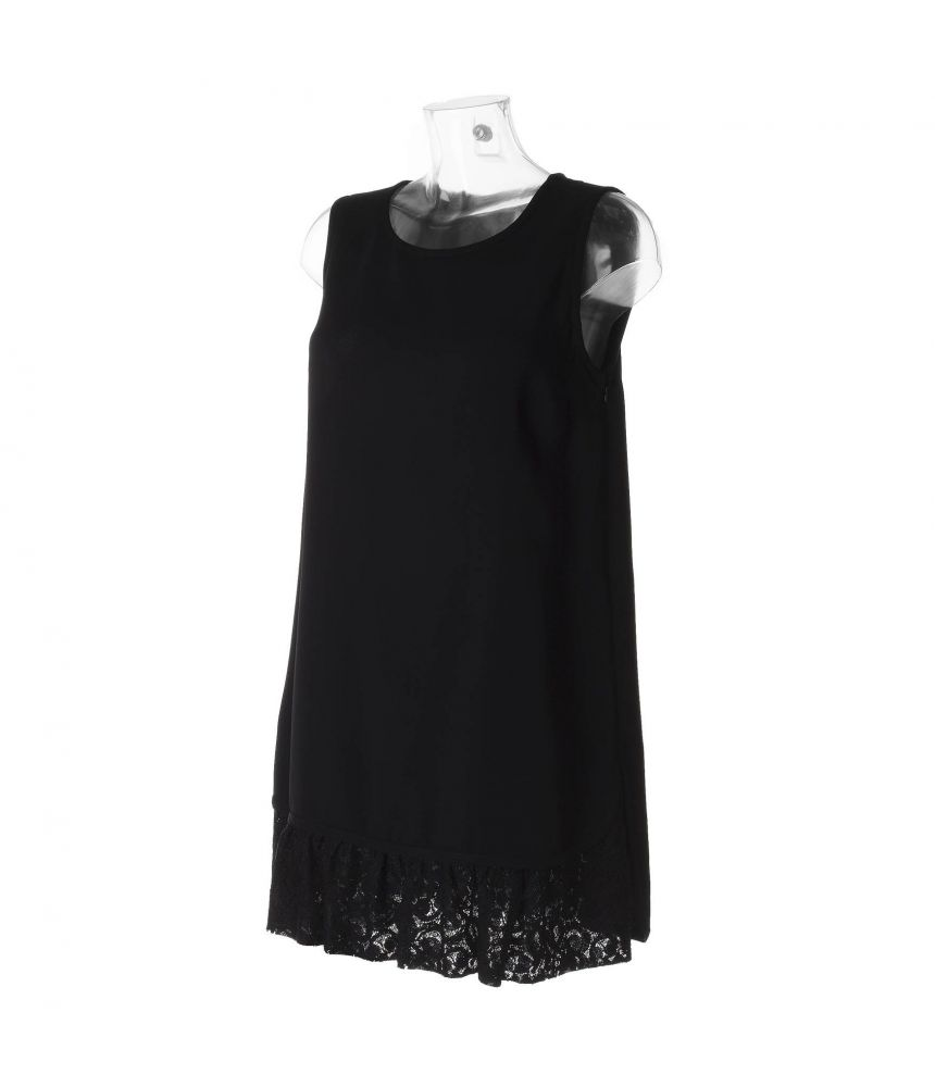 Frankie Morello Laced Dress, Black