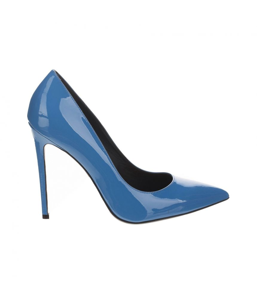 Pantofi cu toc, Gianmarco Lorenzi Italy, albastru
