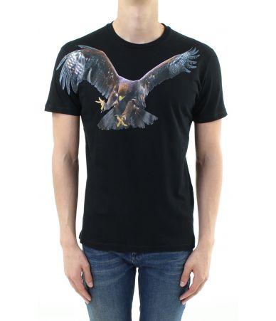 Tricou Neil Barrett, Eagle Print, BJT167SB554S