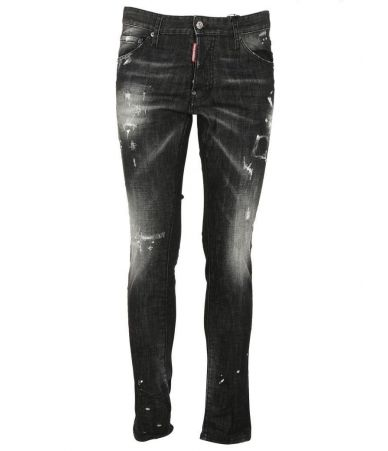 Dsquared2 Cool Guy Jeans, S71LB0249. Made in Italy, 98% cotton, 2% elastane.