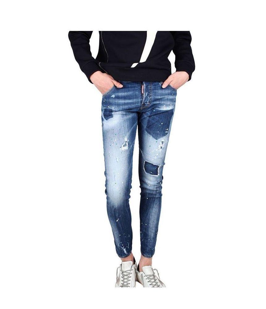 Sexy Twist Jeans Dsquared2, 74LB0322, Destroyed, Patched