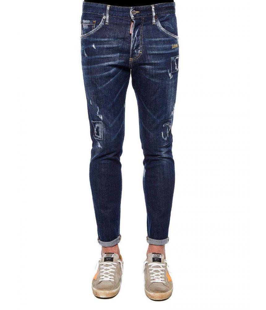 fdac23a9874 Dsquared2 Skinny Jeans, S74LB0346 S30342 470 - SALE! Color Blue Size 48