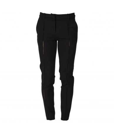Frankie Morello, Casual Women Pants, Stitched