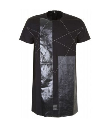 Tricou abstract, Rick Owens Dark Shadow, DRKSHDW