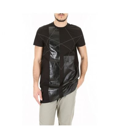 Tricou abstract, Rick Owens Dark Shadow, DRKSHDW DU18S3287COMT11