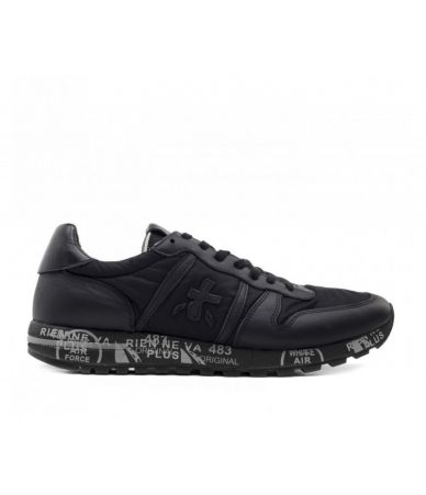 Premiata Eric Sneakers, Leather and Fabric, VAR 3296