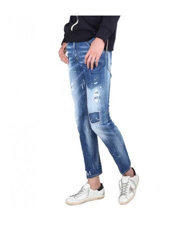 Dsquared2 City Biker Jeans Slim, 74LB0321