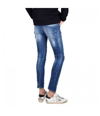 Sexy Twist Jeans Dsquared2, 74LB0322, Destroyed, Patched, 3/4