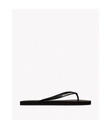 Papuci de plaja Dsquared2, logo frontal, S15FF4011722124