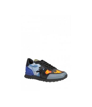 Adidasi Valentino Rockrunner, Sneakers Camo, 3S0723