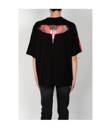 Tricou Marcelo Burlon, Wings Barcode, CMAA052E180010151020