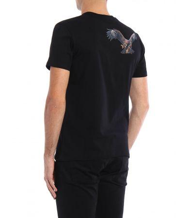 Neil Barrett, Eagle print T-shirt, BJT167SB554S