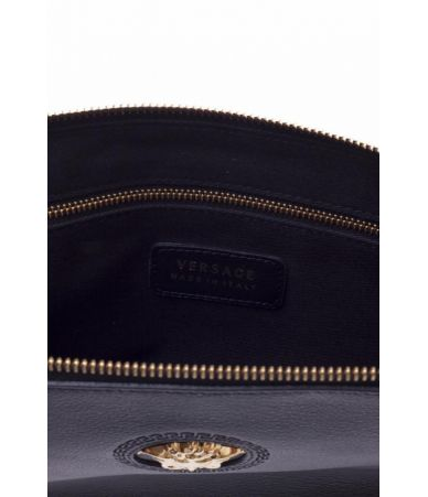 Geanta plic, Versace Medusa, One Size, Piele