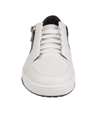 Gucci Sneakers, Two Tone, Front Zipper