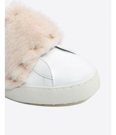 Sneakers Valentino Rockstud Mink, roz, NW2S0E11UEW 50Z