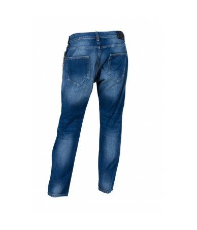Frankie Morello Chain Retro Jeans