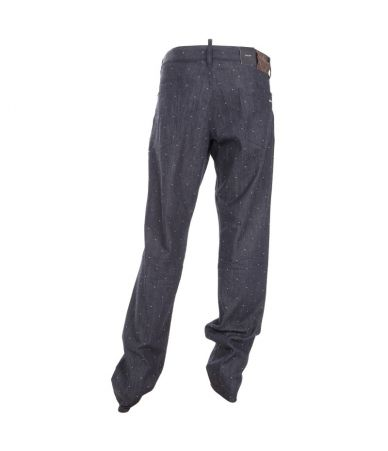 Dsquared2, Slim Fit, Textured Dot Jeans