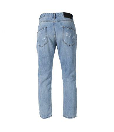 Frankie Morello, Boyfriend Ripped Jeans