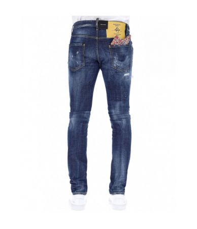 Blugi Dsquared2, Liberty Patches Run Dan, S71LB0501S30144 470