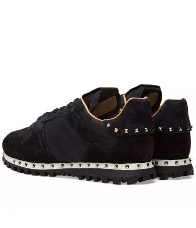 Valentino Nylon Camo, Studded Sneakers PY2S0952NYM