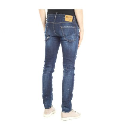 Blugi barbat, Dsquared2 Zip Detail, Cool Guy Jeans, S71LB0504-S30342-470