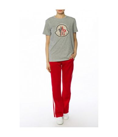 Moncler Sweatpants, Striped, Jersey Track Pants